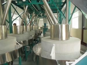 10台石磨-2-LTFSM-10-16T石磨磨粉机组