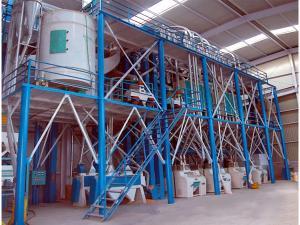100-300吨玉米(钢架式)机组