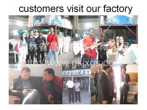 Mozambique customers to visit our company